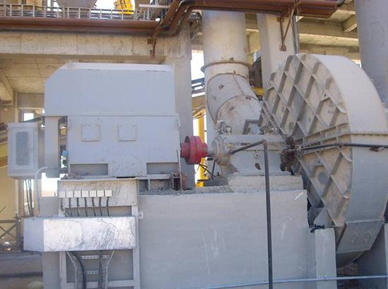 09年出口埃及的水泥生產線風機1